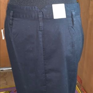 Old Navy Skirts - Old navy black mini skirt with buttons, NWT